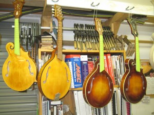 Creek Series: A-Style Mandolins ready for hardware e1336966616408
