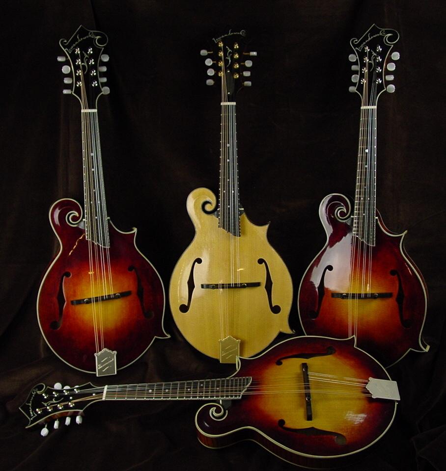 River Series: F-Style Mandolins 4 mandolins