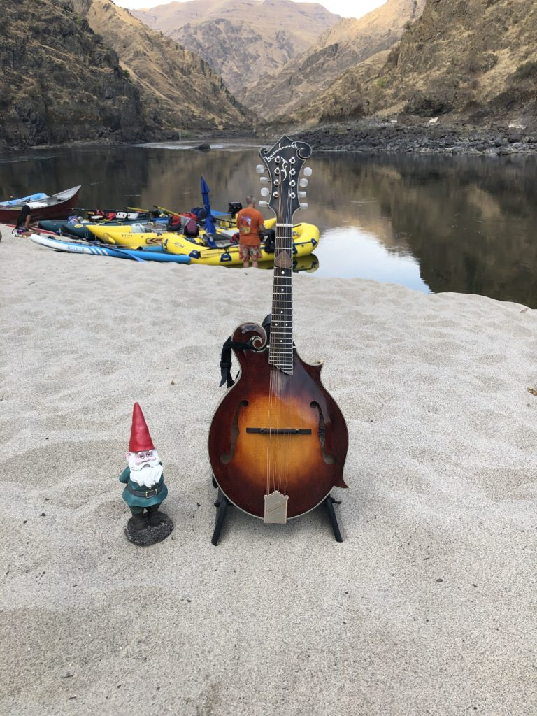 A Middle Fork F5 Mandolin Goes On A Whitewater Rafting Trip blog 001 day five camp 768x1024