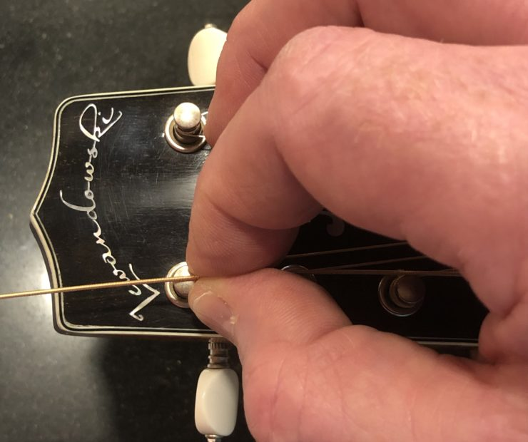 Measure One  Changing Strings on a Mandolin measure one 740x620