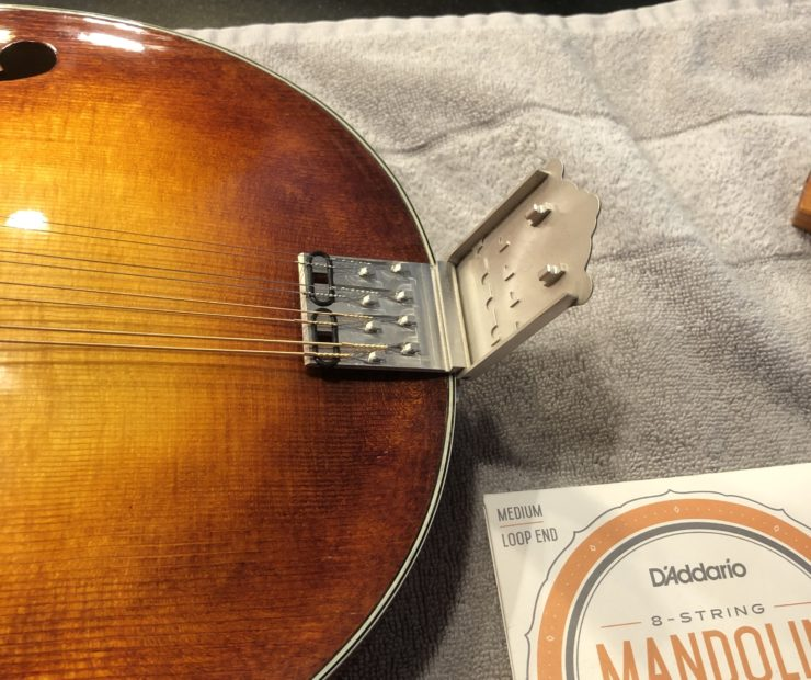 Changing Strings on a Mandolin tailpiece two 740x620